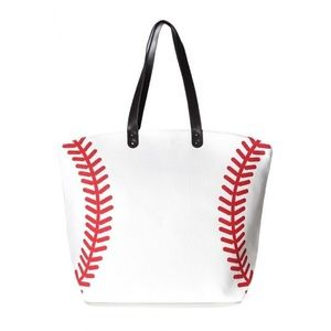 Handbags - Ladies Base Ball Tote